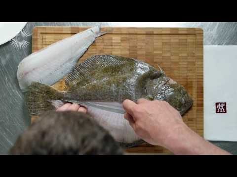 Knife Skills - How To Fillet a Flat Fish