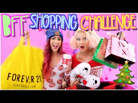 BESTFRIEND SHOPPING CHALLENGE 2017!! HOLIDAY EDITION