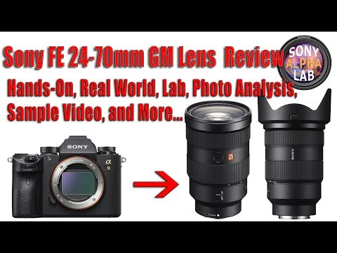 Sony FE 24-70mm f/2.8 GM Lens Review and Compared to 24-70mm F/4 ZA OSS Lens...