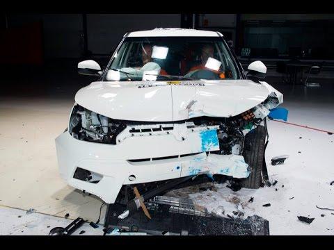 SsangYong Tivoli - SsangYong XLV - 2016 - Crash test Euro NCAP