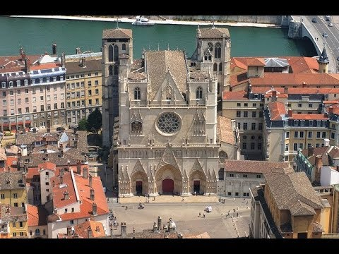 Places To See In Lyon France Cathedral Saint Jean
