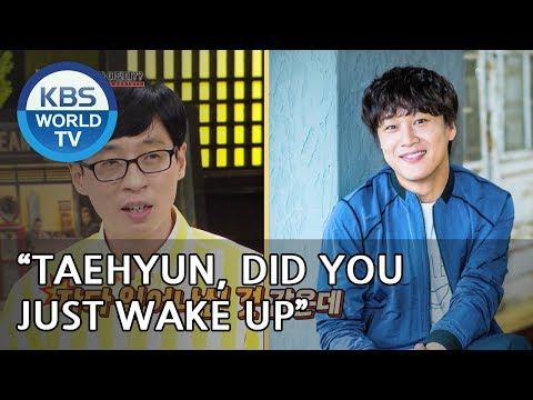 "Jaeseok ""Taehyun, it sounds like you just woke up"" [Happy Together/2018.06.14]"