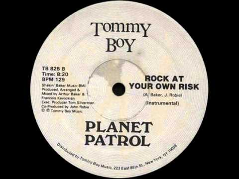 Planet Patrol  Rock At Your Own Risk  1982