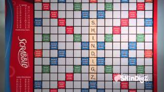 Game Night Theme Party - Life Sized Scrabble Board - Shindigz Party Supplies