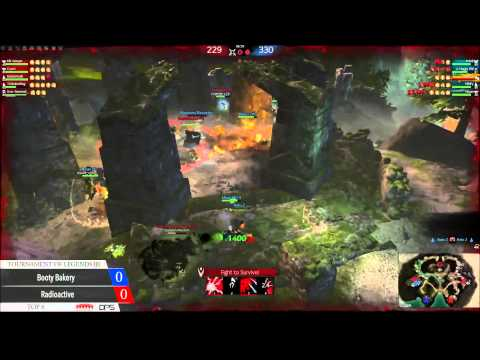 Guild Wars 2 Tournament of Legends 3 (NA) Top 8 Match: Radioactive vs Booty Bakery