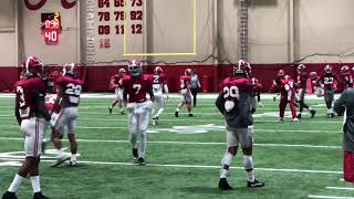 JUCO transfer Saivion Smith first Alabama practice