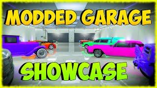 "GTA 5 ""MODDED CARS"" (MODDED PAINT JOBS)  RARE & MODDED VEHICLES Showcase"