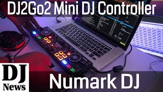Numark DJ 2 Go 2 Mini USB Controller with Audio Cards | Disc Jockey News