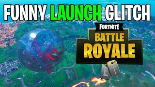 *NEW* FORTNITE FUNNY BALLER LAUNCH GLITCH SEASON 8 BATTLE ROYALE