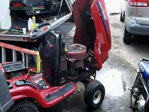 Craftsman Lt4000 And Craftsman Dyt4000 Youtube