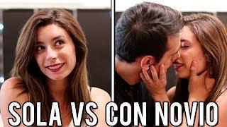 SOLA VS CON NOVIO   Lyna Vlogs