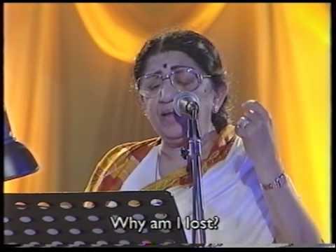 Lata Mangeshkar - Aye Dil e Nadan (Live Performance)