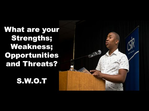 [MUST WATCH]-What are your Strengths, Weaknesses, Opportunities and Threats?