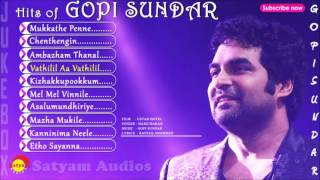 Top Hits of Gopi Sundar | Malayalam Film Songs