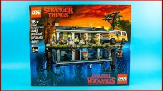 LEGO STRANGER THINGS The Upside Down 75810 Construction Toy UNBOXING