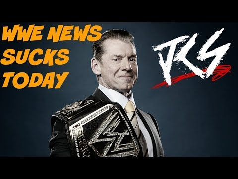 WWE News Sucks Today ! - Plus Corrupted Podcast