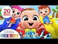Fun at the Waterpark | Playground Song | Nursery Rhymes & Kids Songs - Little Angel