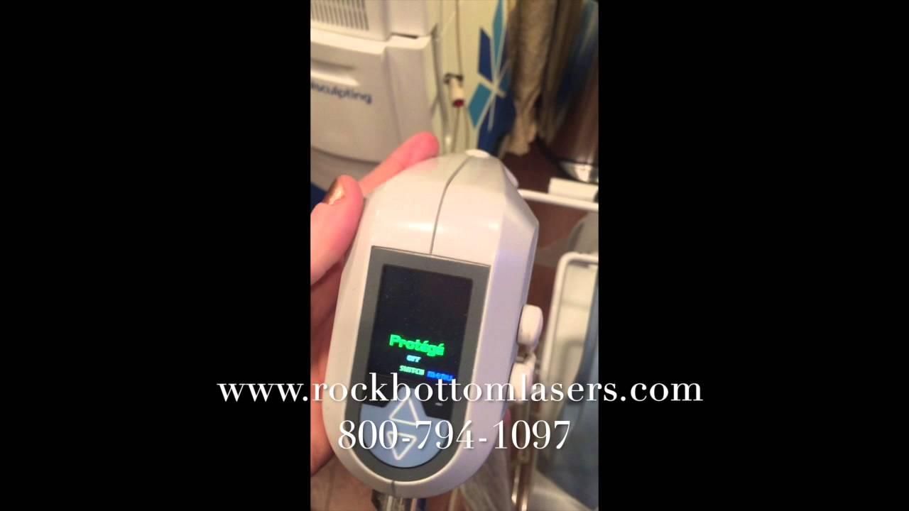 5f4da42f6ec 2013 BTL Aesthetics Exilis Protege Elite Laser For Sale - YouTube