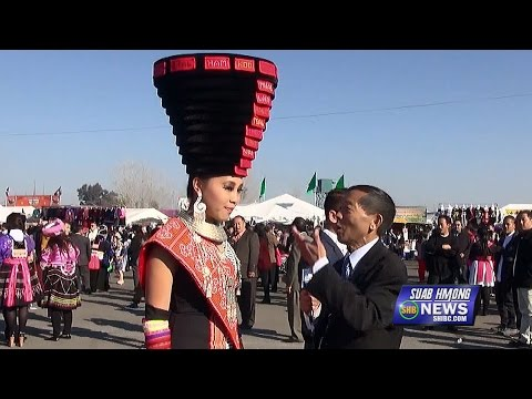 SUAB HMONG NEWS:  Kangyee Vang interviews at the 2015-16 Hmong International New Year