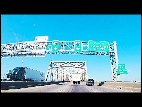 BATON ROUGE LOUISIANA 1-10 WEST BRIDGE