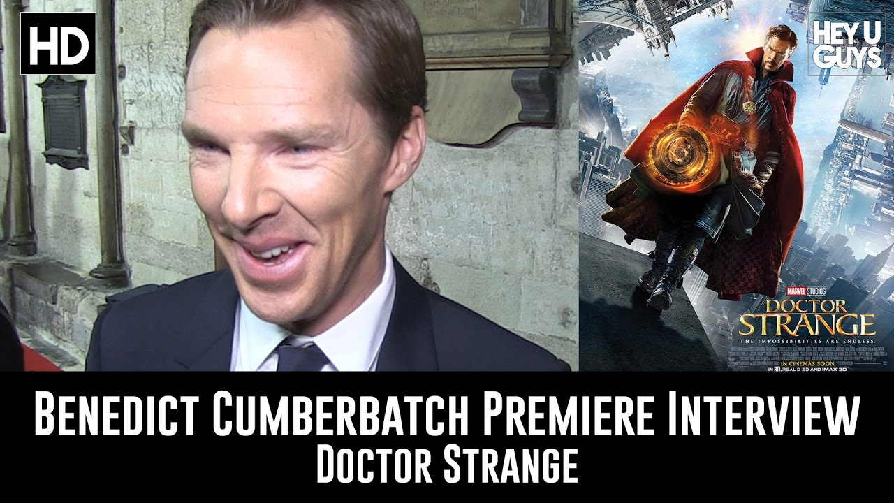 doctor strange benedict cumberbatch premiere interview doctor strange benedict cumberbatch premiere interview