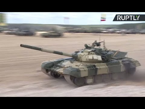 LIVE: Tank biathlon resumes at Army Games 2017 in Russia (Da