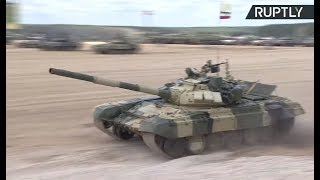 LIVE  Tank biathlon resumes at Army Games 2017 in Russia (Day 4)