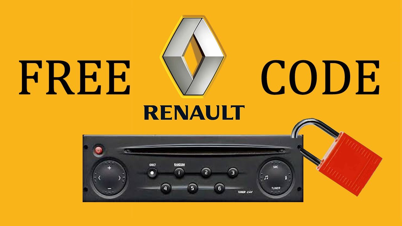 renault radio code do it yourself youtube. Black Bedroom Furniture Sets. Home Design Ideas