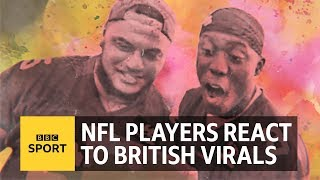 NFL players react to UK viral moments from 2017 - BBC Sport