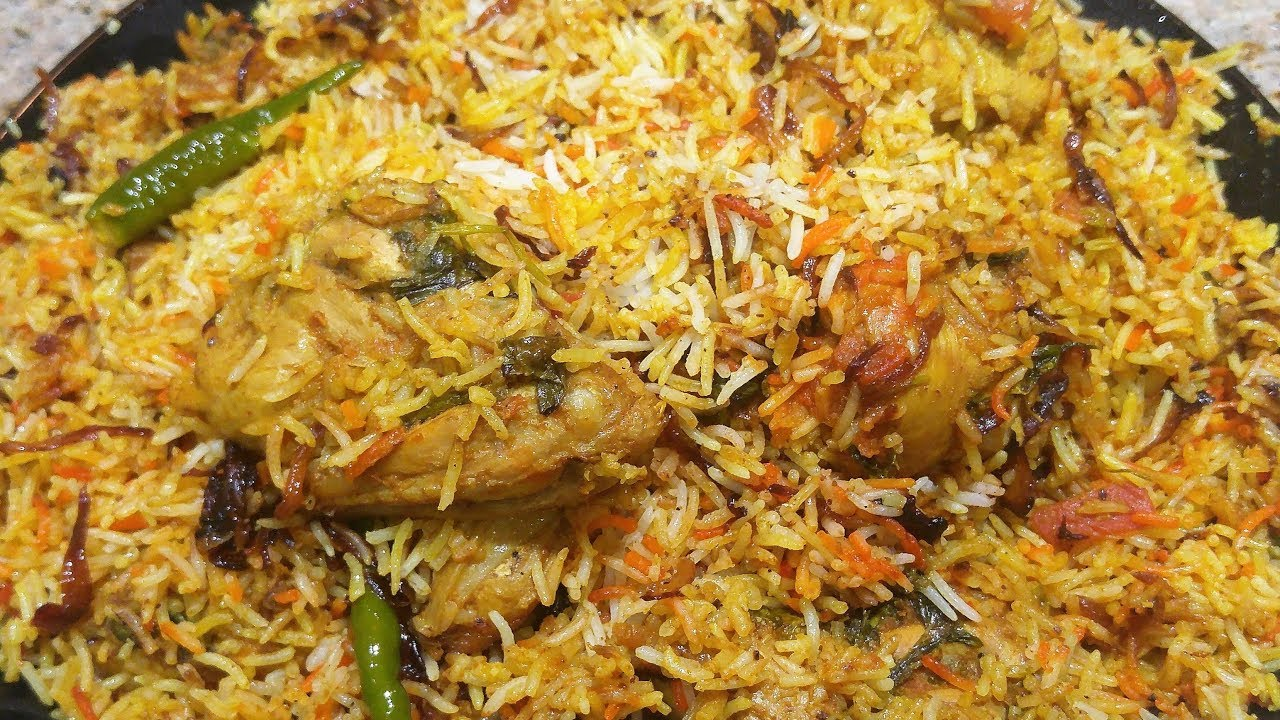 Masalay Dar Chicken Biryani // Dubai Kitchen