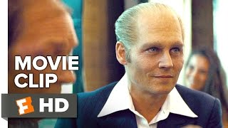 Black Mass Movie CLIP - Take the Bag (2015) - Johnny Depp, Peter Sarsgaard Movie HD