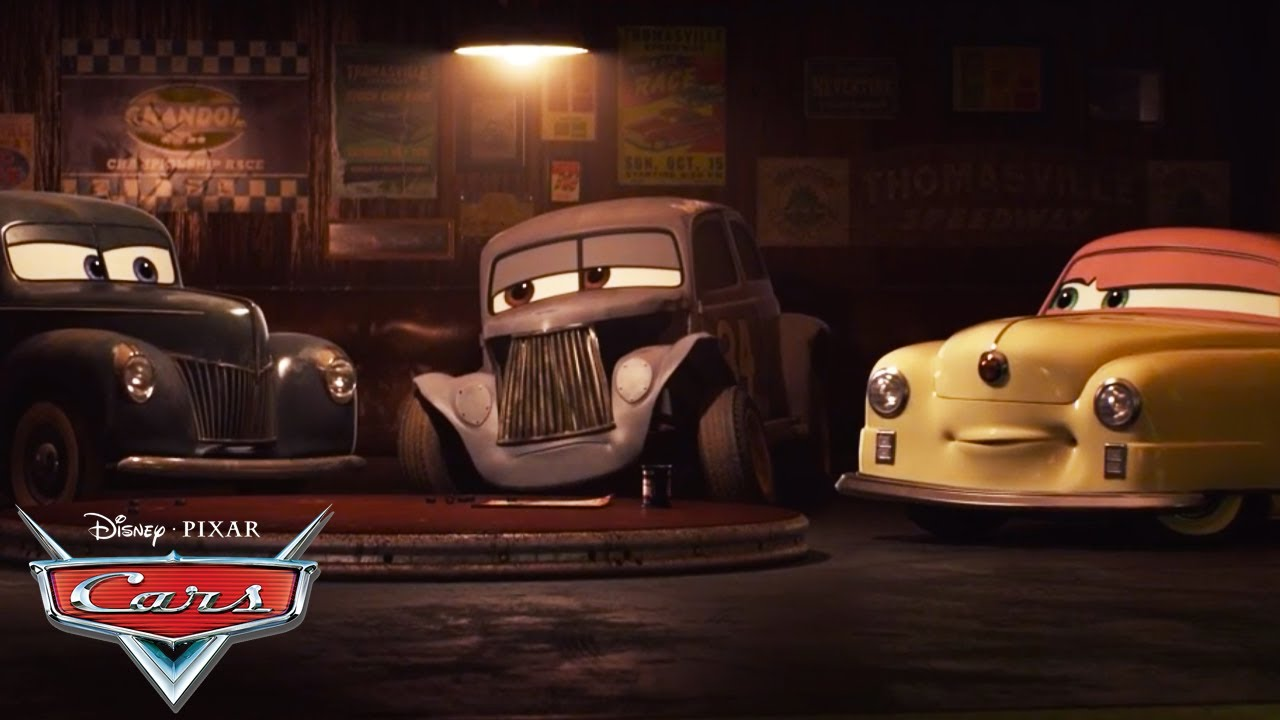 Meet the Racing Legends! | Pixar Cars
