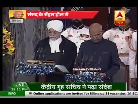 Presidential Election 2017: Ram Nath Kovind sworn in as the 14th President of India
