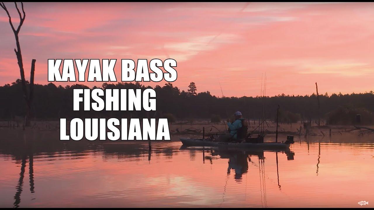Louisiana Bass Fishing | FALL PATTERNS | Kayak Bass Fishing