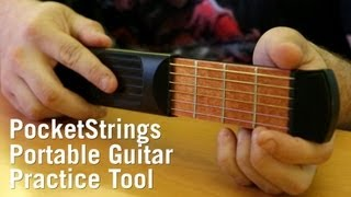 PocketStrings Portable Guitar Practice Tool from ThinkGeek