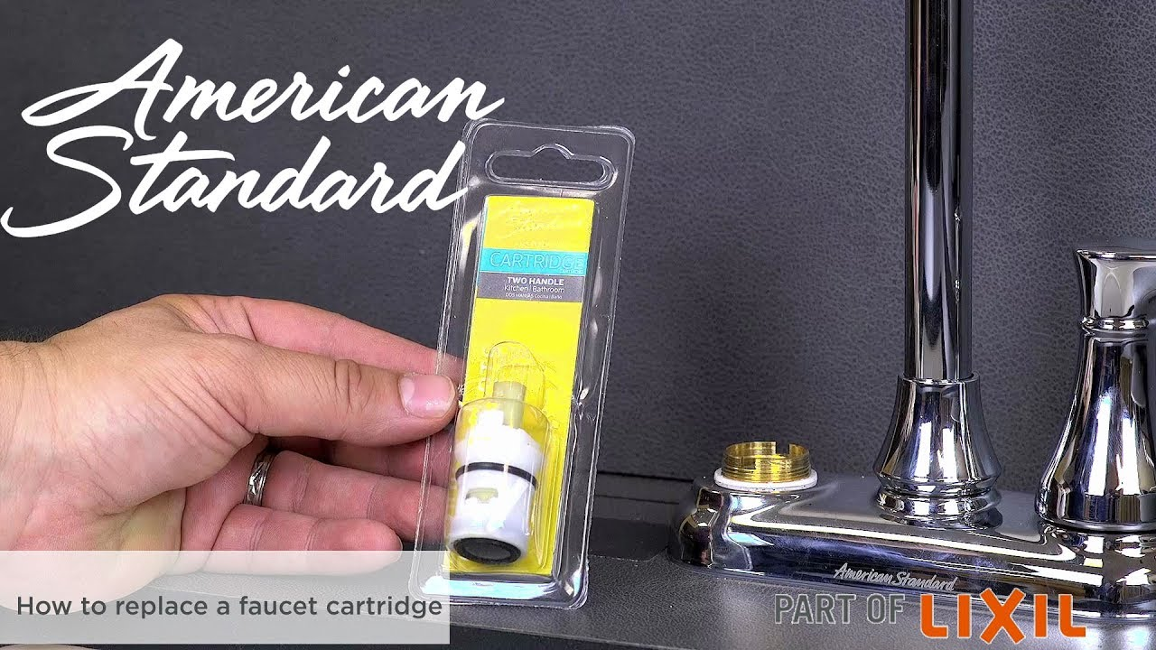 How to Replace a Faucet Cartridge - YouTube