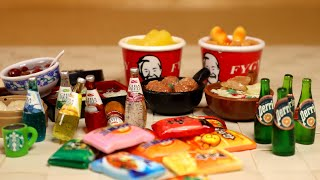 Мини Лента из Китайя #1 - Доширак - KFC - Суши Роллы - миниатюры продукты с Aliexpress