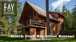 Montana Riverfront Property For Sale | North Fork Blackfoot River Retreat | Ovando Mt