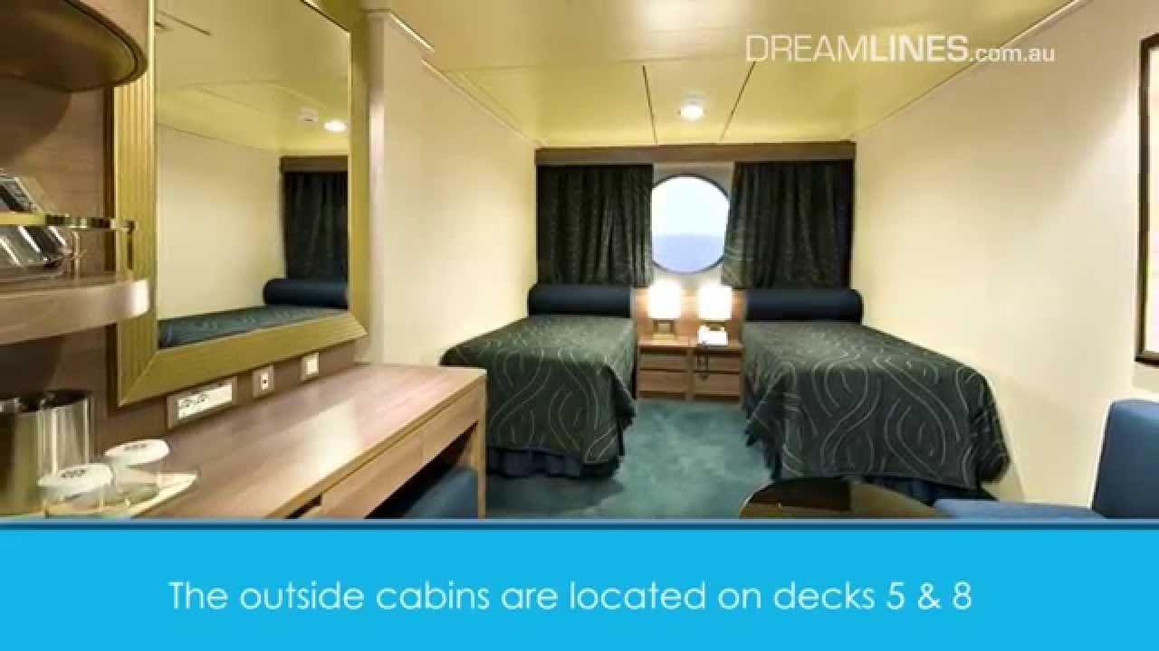 An Overview Of The Cabins Onboard MSC Fantasia YouTube