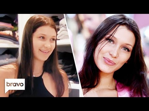 Bella Hadid Before She Was A Supermodel   Real Housewives Of Beverly Hills   Bravo