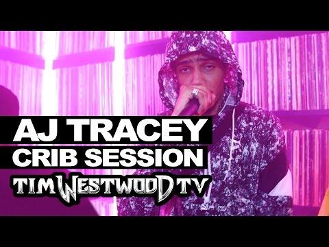 AJ Tracey & friends freestyle - Westwood Crib Session
