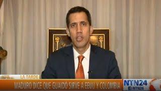 """Guaidó: """"El próximo 10 de enero hay una situación de facto en Venezuela"""""""