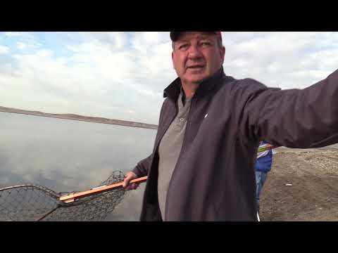 Lake Oahe Spring Shore Fishing Seg-2