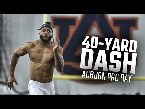 Top 40-yard Dash Times At Auburn Pro Day 2018