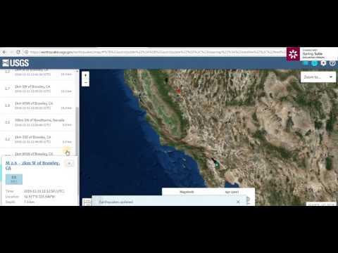 NYE- SOCAL EQ Swarm - Possible M5.5 EQ For Northern California