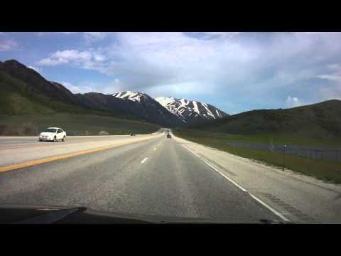 Brigham City to Logan Utah via Majestic Sardine Canyon June  2011