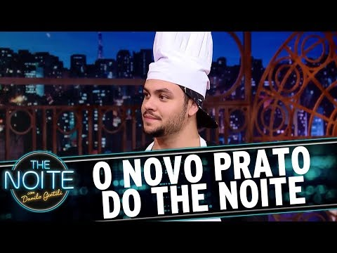 O Novo Prato do The Noite - EP. 4  | The Noite (22/08/17)