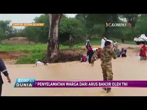 Aksi 12 Personil TNI di Darfur yang Selamatkan Warga