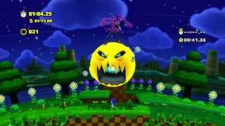Sonic Lost World - Wii U - Windy Hill Zone 2