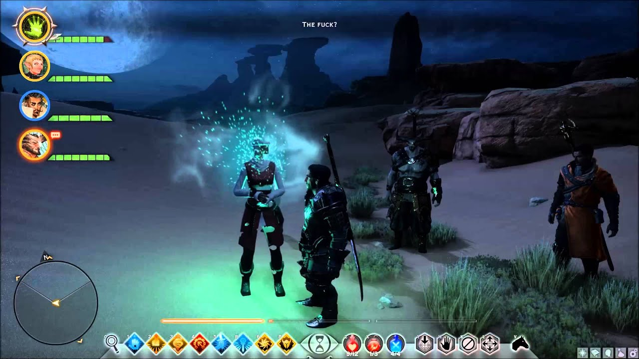 Dragon age inquisition hissing wastes strange chantry sister